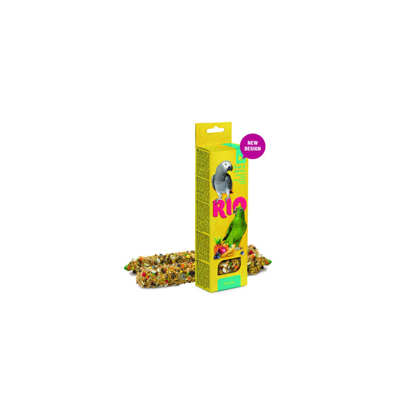 RIO - Sticks For Parrots With Fruit & Berries 2x75g