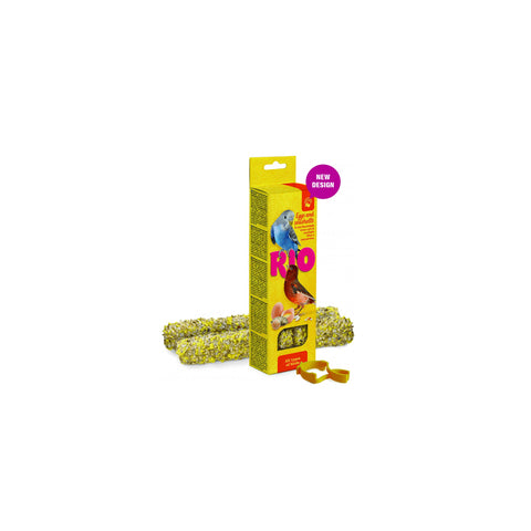 RIO - Sticks For All Types Of Birds With Eggs & Oystersell 2x40g - zoofast-shop