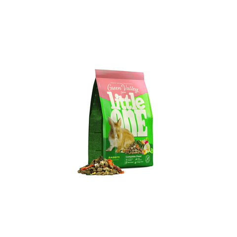 "Little One - Food For Rabbits ""Green Valley"" Grass 750g - zoofast-shop"