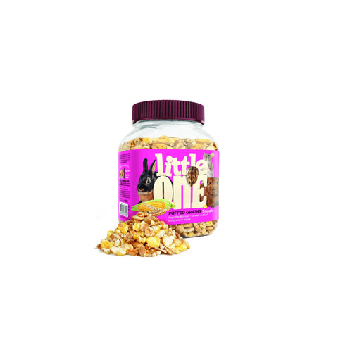 Little One - Snack For All Small Mammals Puffed Grains 200g - zoofast-shop