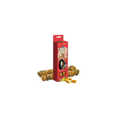 Little One - Snack For All Small Animals with Fruits 60g - zoofast-shop
