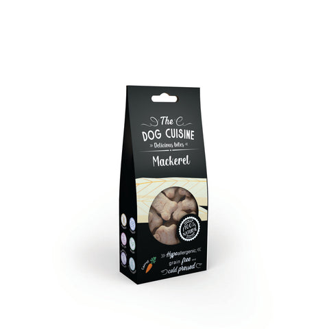 The Dog Cuisine Bites – Mackerel & Carrot 100g