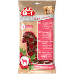 8in1 - Minis Lamb & Cranberry 100g - zoofast-shop