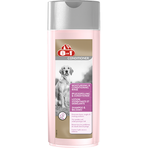 8in1 - Shampoo & Conditioner For Dogs Rinse 250ml - zoofast-shop