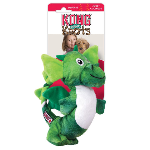 KONG - Dragon Knots Medium-Large (Ass. Colours)