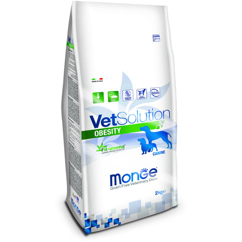 MONGE -  VetSolution Dog Obesity 2 & 12Kg