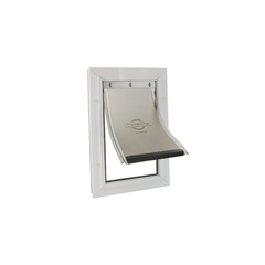 Petsafe - Staywell Aluminium Pet Door White - zoofast-shop