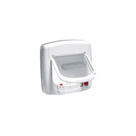 Petsafe - Staywell Deluxe Infrared Cat Flap White - zoofast-shop
