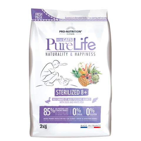 PureLife Cat Sterilized 8+