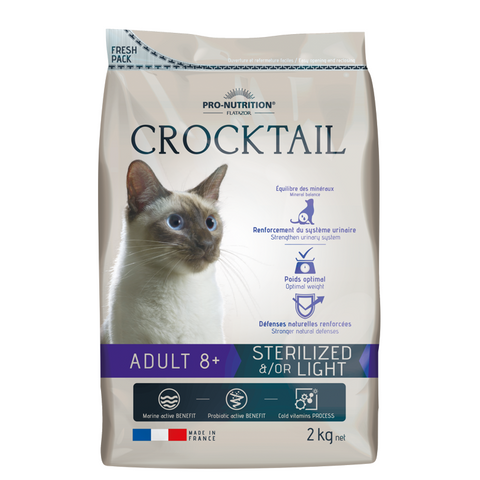 Crocktail Adult Sterilized 8+Cat Sterilized/light