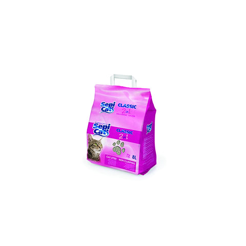 Sepi Cat - Litter For Cats Classic 2in1 8L - zoofast-shop
