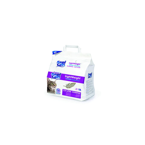 Sepi Cat - Litter For Cats Lightweight Ultra Antibacterial 10L - zoofast-shop