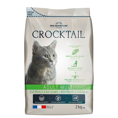 Crocktail Adult Multi with Poultry and Vegetables