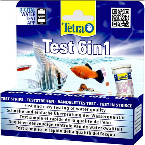 Tetra - Test 6in1 10 strips