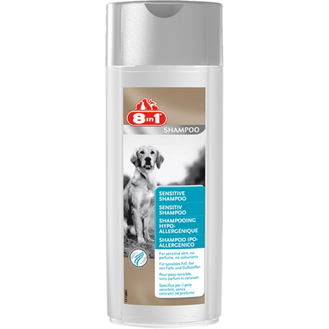 8in1 - Shampoo For Dogs Sensitive 250ml - zoofast-shop
