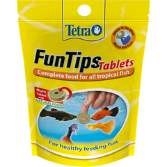 Tetra - Food For Fish Fun Tips Tablets 20pcs-8g