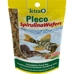 Tetra - Food For Fish Pleco Spirulina Wafers 105g-250ml