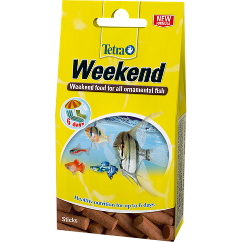 Tetra - Food For Fish Min Weekend Holiday Sticks 9g-10pcs