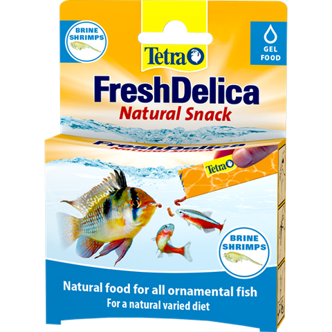 Tetra - Food For Fish Freshdelica Brine Shrimps 16x3g-48g