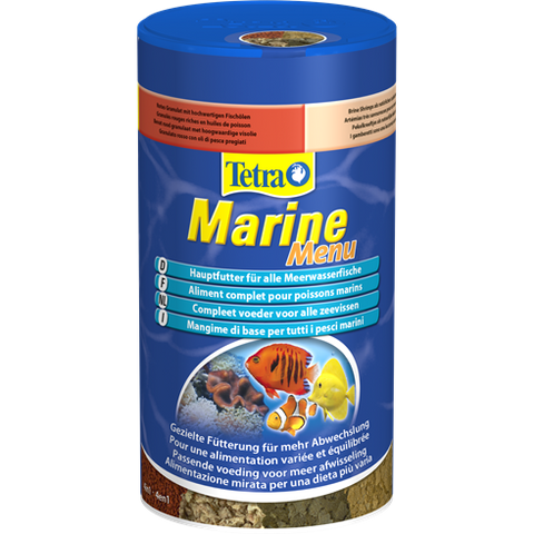 Tetra - Food For Fish Marine Menu 65g-250ml