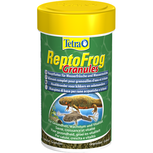 Tetra - Food For Reptiles Reptofrog Granules 36g-100ml