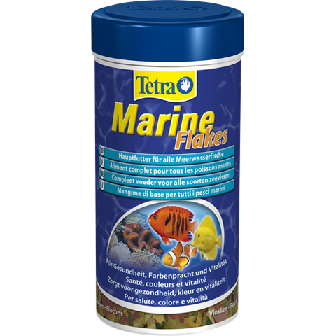 Tetra - Food For Fish Marine Flakes 52g-250ml