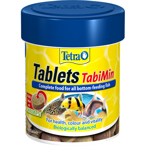Tetra - Tablets For Aquariums Tabimin