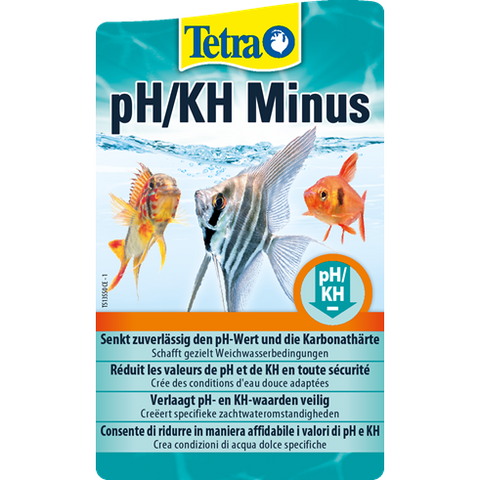 Tetra - Liquid For Aquariums PH-KH Minus 250ml