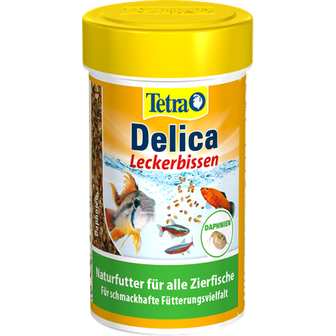 Tetra - Food For Fish Delica Daphnia 14g-100ml