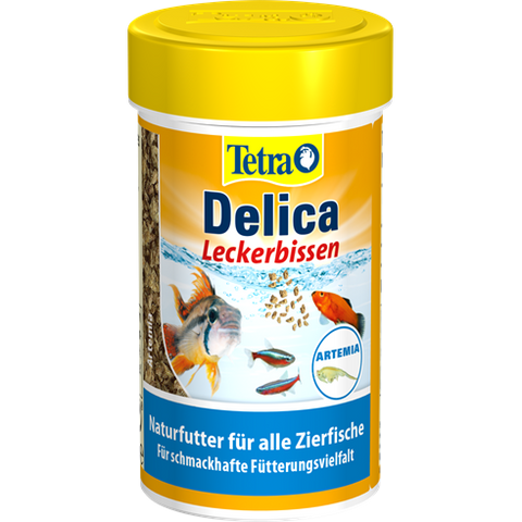 Tetra - Food For Fish Delica Brine Shrimps 11g-100ml