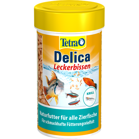 Tetra - Food For Fish Delica Krill 14g-100ml