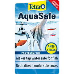 Tetra - Liquid For Aquariums Aquasafe For Tap Water 500ml