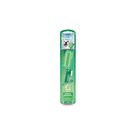 TropiClean - Finger Brushes Fresh Breath 2 Pack - zoofast-shop