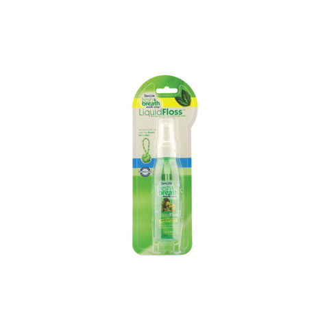 Tropiclean - Liquid Floss For Dogs Fresh Breath 118ml - zoofast-shop