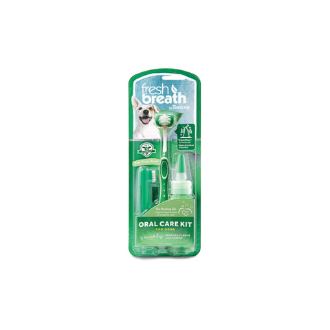 Tropiclean - Oral Care Kit For Big Dogs Fresh Breath - zoofast-shop