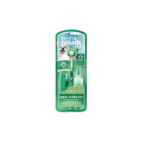Tropiclean - Oral Care Kit For Small Dogs Fresh Breath - zoofast-shop
