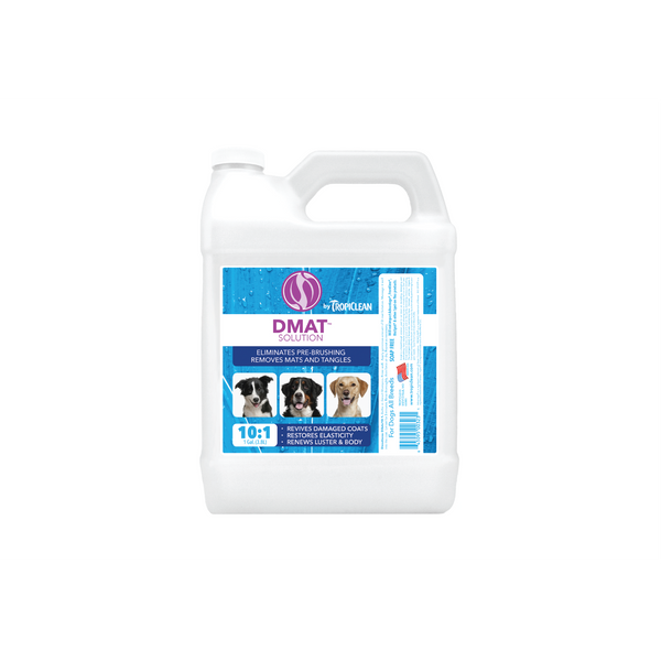 Tropiclean - Shampoo For Dogs & Cats Dmat Solution 3.8L