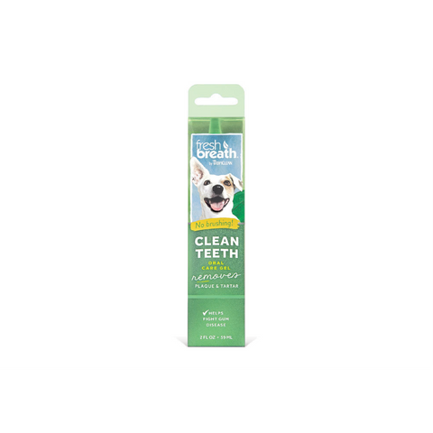 Tropiclean - Clean Teeth Gel For Dogs & Cats Fresh Breath 118ml - zoofast-shop