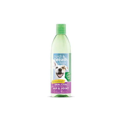 TropiClean - Water Add. For Dogs & Cats Fresh Breath Hip & Joint - zoofast-shop
