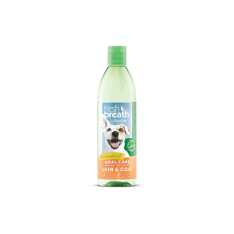 TropiClean - Water Add. For Dogs & Cats Fresh Breath Plus Skin & Coat - zoofast-shop