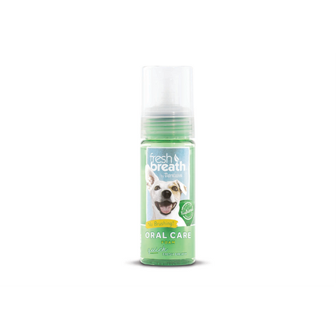 Tropiclean – Oral Care Foam Fresh Breath For Dogs 133ml - zoofast-shop
