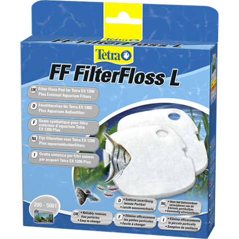Tetra - Filter Floss For External Filter Ex1200 FF 1200
