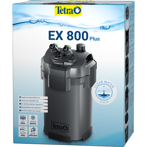 Tetra - Filter For Aquariums External Ex 800 Plus
