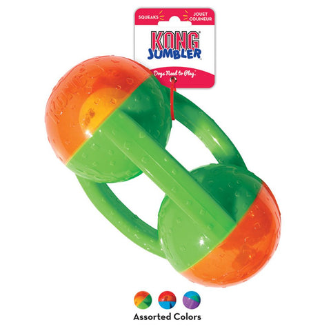 KONG - Jumbler Tri Assorted Colours