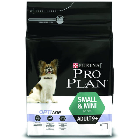 PURINA PRO PLAN – Small & Mini Adult 9+ Chicken 3kg