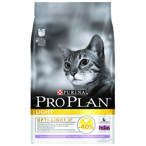 PURINA PRO PLAN – Light Cat Turkey 1.5kg
