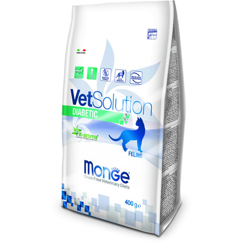 MONGE -  VetSolution Cat Diabetic 400gr & 1.5Kg
