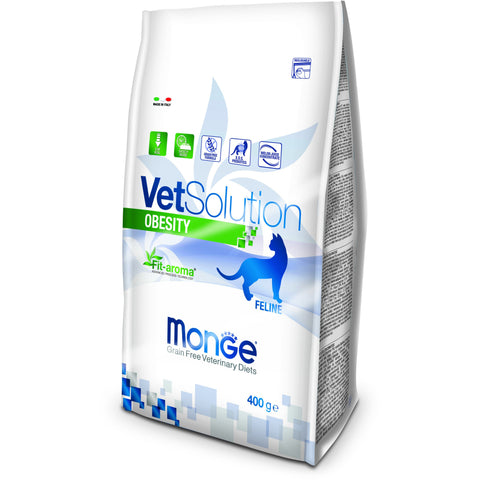 MONGE -  VetSolution Cat Obesity 400gr & 1.5Kg