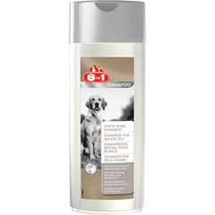 8in1 - Shampoo For Dogs White Pearl 250ml - zoofast-shop