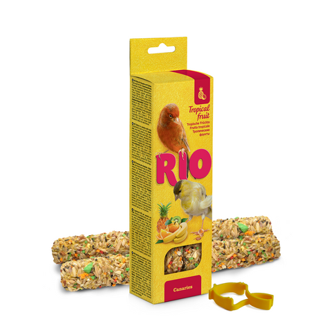 RIO- Sticks For Canaries With Tropical Fruits 2x40g